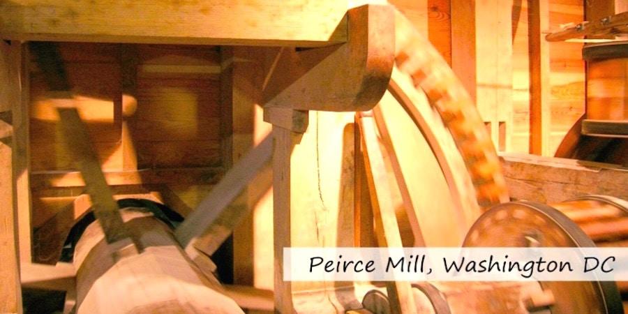 peirce mill washingtondc muehle - Deutscher Mühlentag: Mühlen & Wasserräder