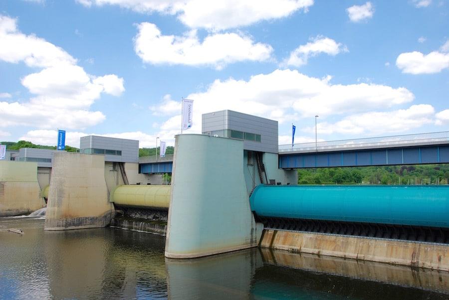 wasserkraftwerk baldeneysee - Radtour Ruhrgebiet - Tour im Radrevier Ruhr