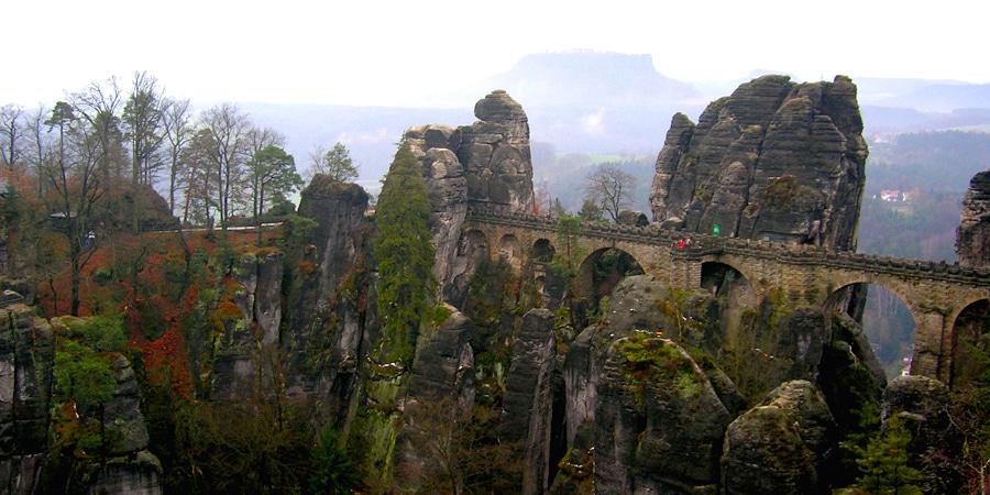 einmalige erlebnisse deutschland bastei elbsandsteingebirge tip427 - 500 Einmalige Erlebnisse Deutschland
