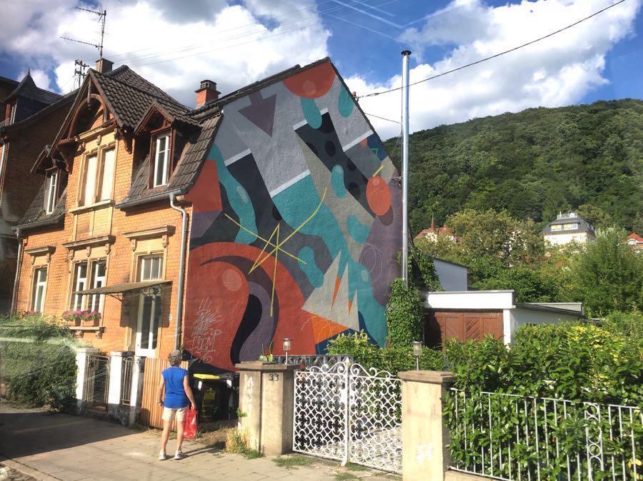 streetart in heidelberg1 - Urbane Kunst: Streetart in Heidelberg