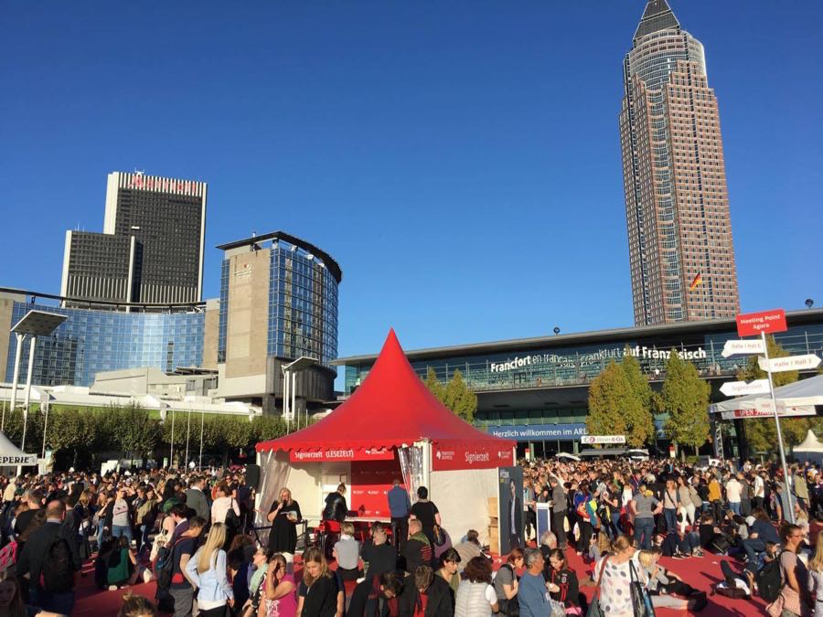 frankfurter buchmesse blogger reise 2 - Die Frankfurter Buchmesse aus Blogger-Sicht