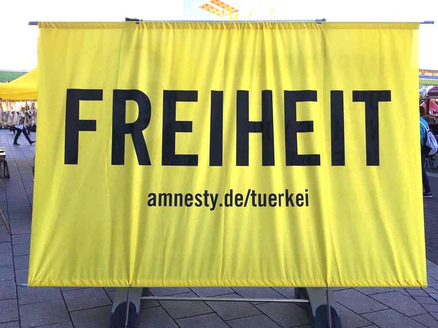 Buchmesse Amnesty International
