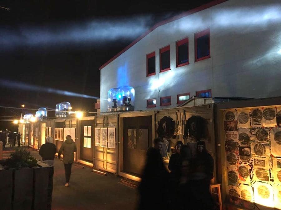 Nachtwandel im Jungbusch in Mannheim
