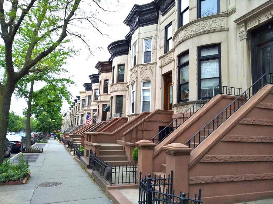 houses park slope brooklyn - Mein Stadtbummel in New York City