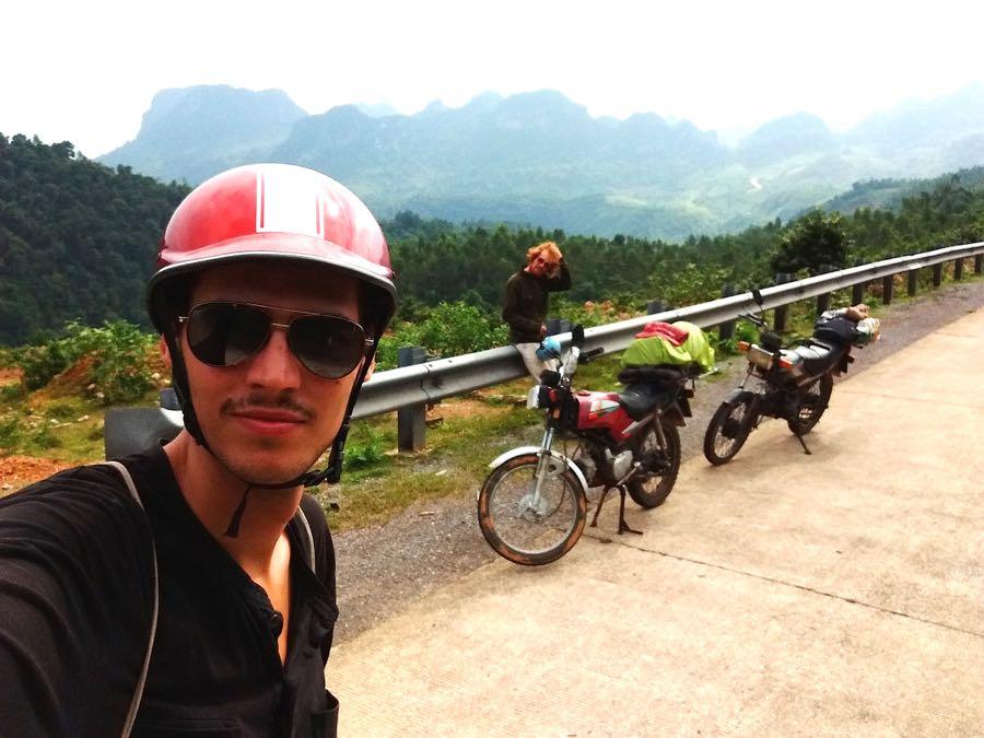 backpacker motorrad vietnam - Roadtrip mit dem Motorrad durch Vietnam