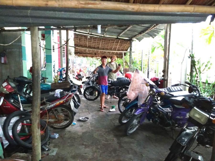 motorrad werkstatt vietnam - Roadtrip mit dem Motorrad durch Vietnam