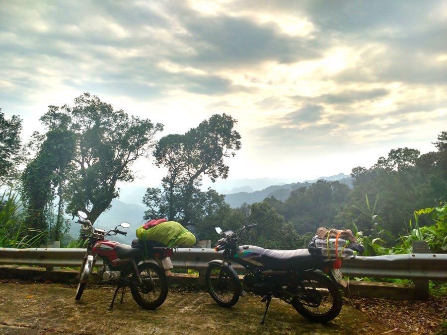 Motorrad Vietnam Roadtrip Asien