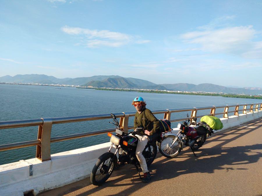 Motorrad Roadtrip Asien