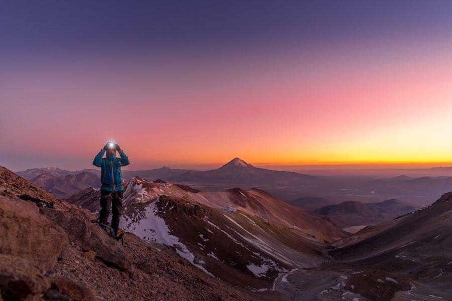 bergsteigen trekking bolivien acotango werner mueller schell - Bergsteigen und Trekking in Bolivien