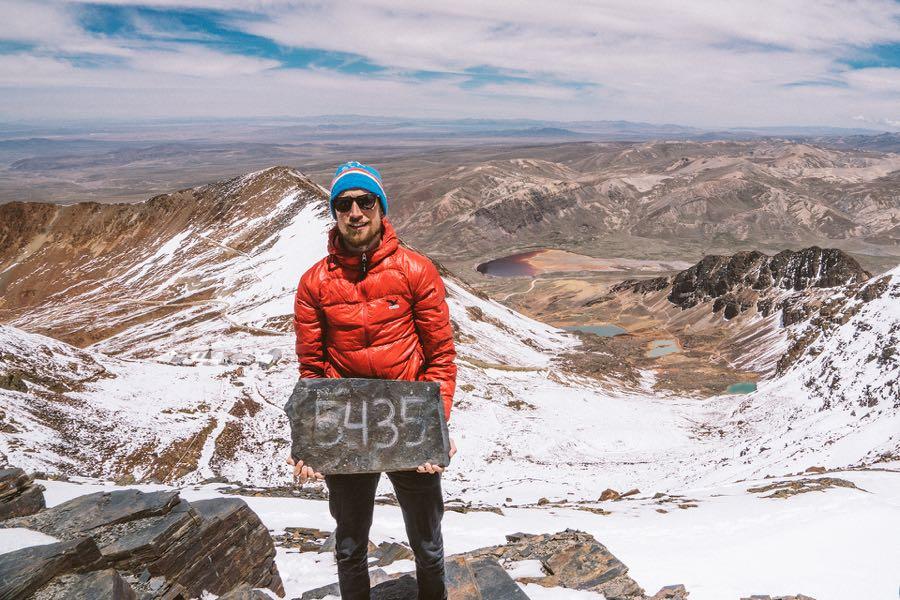 bolivien chacalataya werner mueller schell - Bergsteigen und Trekking in Bolivien