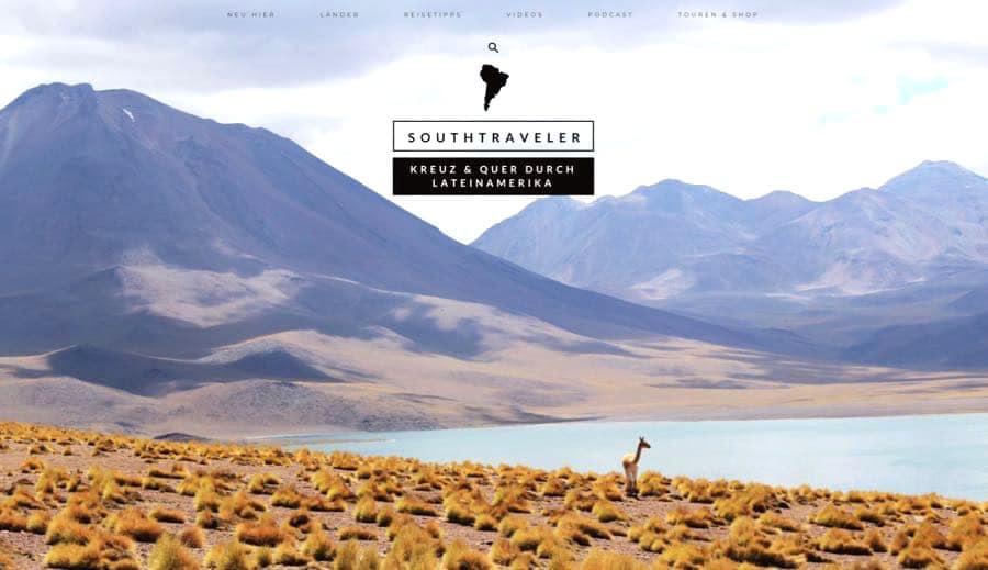 southtraveler reiseblog - Die Top 10 Reiseblogger - meine Favoriten
