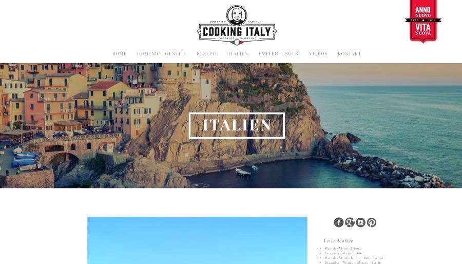 Blogger Rhein Neckar Mannheim Cooking Italy Domenico Gentile