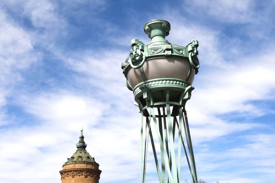 Wasserturm Mannheim Sehenswürdigkeiten