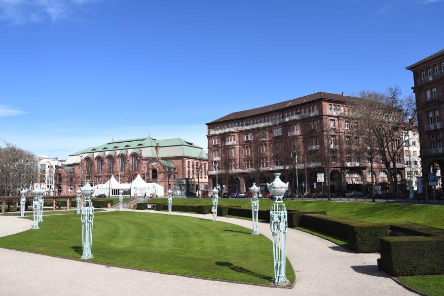 Rosengarten Friedrichsplatz Mannheim Sehenswürdigkeiten