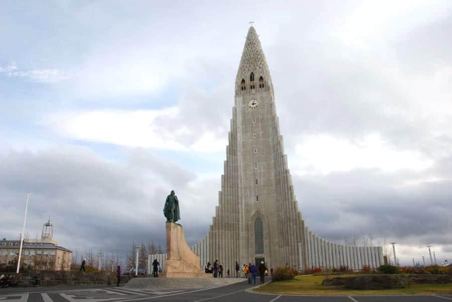 Reykjavik Kirche Hallgrimskirkja