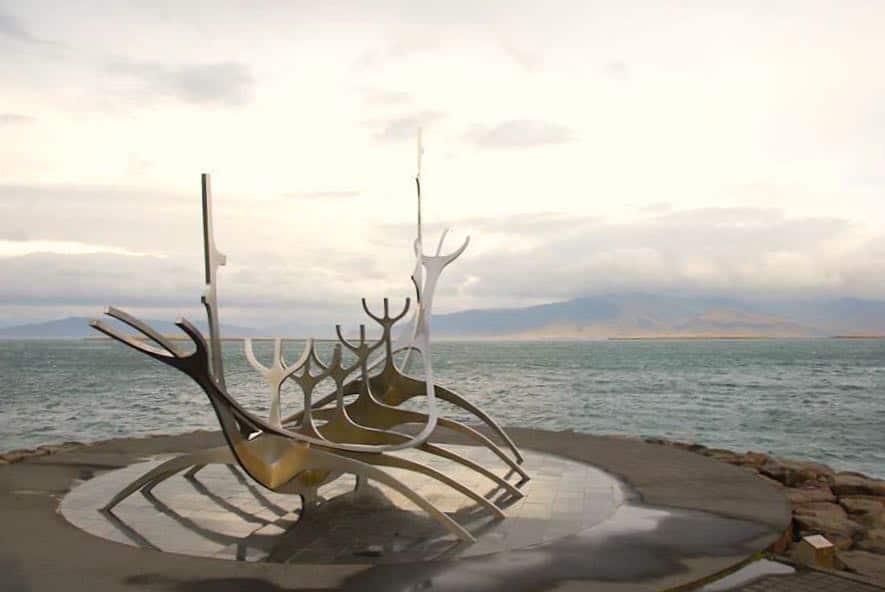 Solfar Reykjavik Sehenswürdigkeiten Island