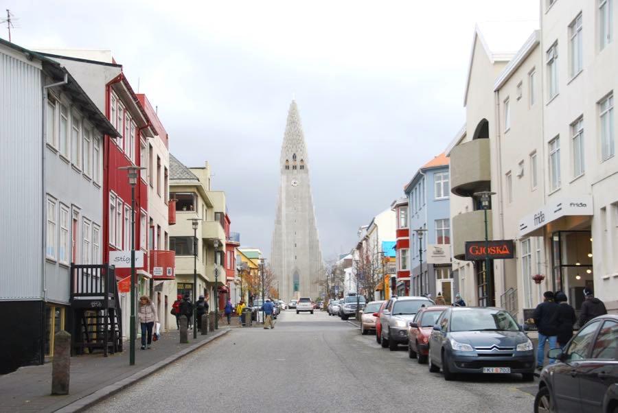 Reykjavik Sehendwürdigkeiten Kirche Hallgrimskirkja