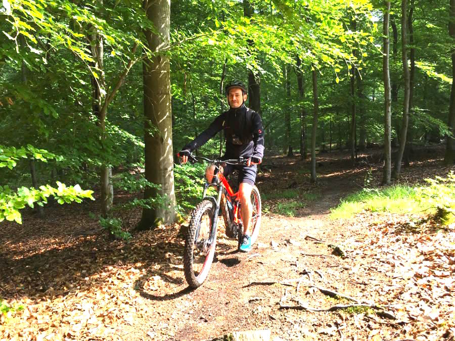 MTB Mountainbiken Flowtrail Stromberg