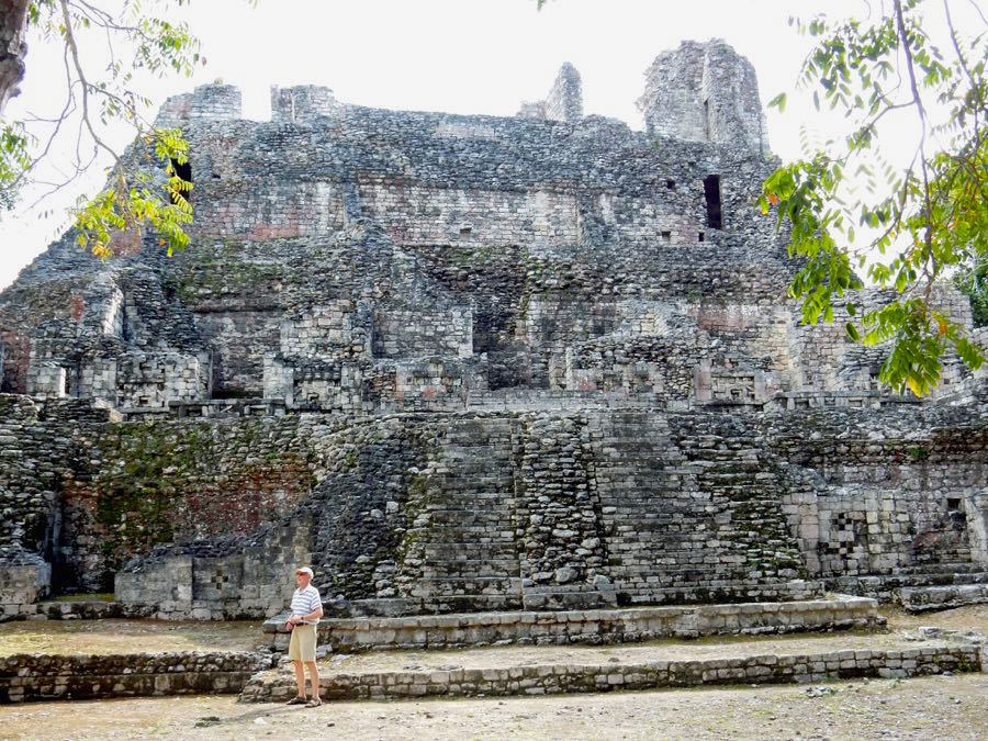Becan Yucatan Mexiko Urlaub Tipps