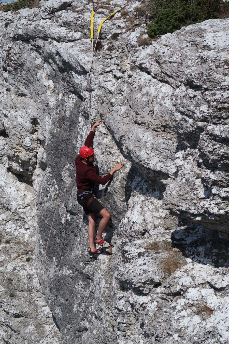 gotland climbing 2 - Schweden Tipps: Gotland und Visby entdecken