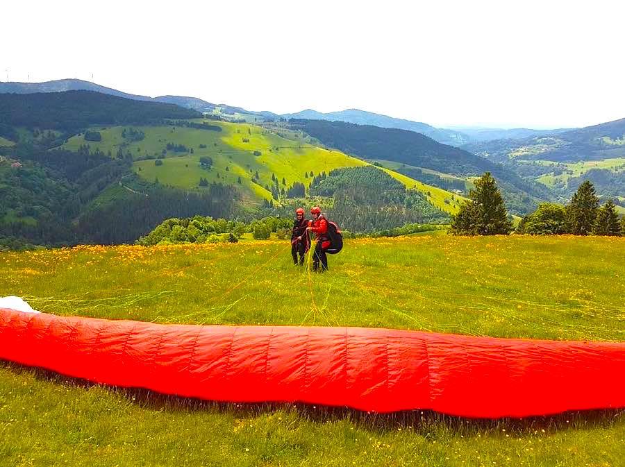 paragliding schwarzwald 2 - Die Outdoor-Region Belchen im Schwarzwald
