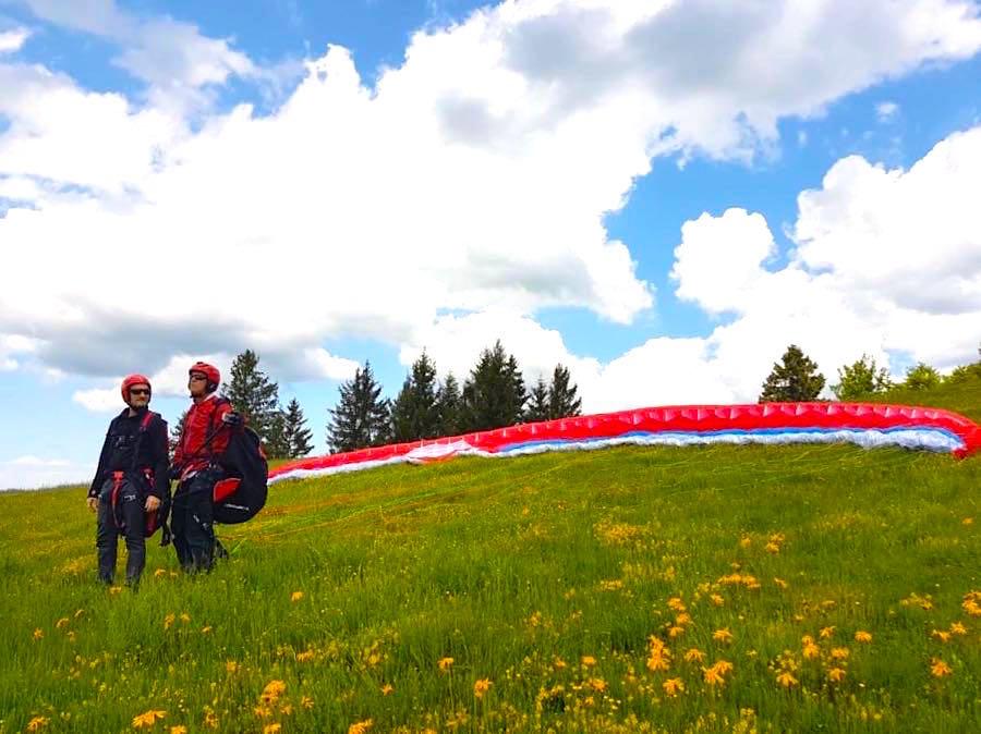 paragliding schwarzwald 3 - Die Outdoor-Region Belchen im Schwarzwald
