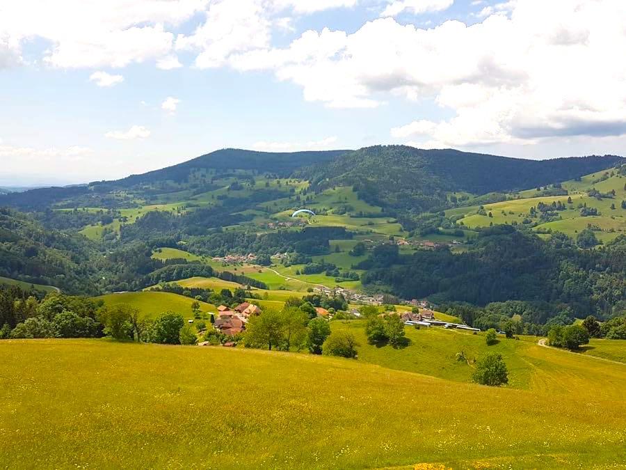 paragliding schwarzwald 4 - Die Outdoor-Region Belchen im Schwarzwald