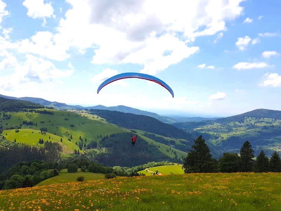 paragliding schwarzwald - Die Outdoor-Region Belchen im Schwarzwald