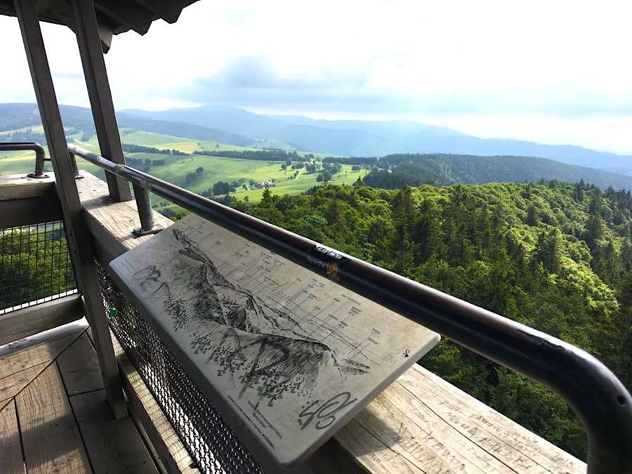 schauinsland aussicht 1 - Die Outdoor-Region Belchen im Schwarzwald