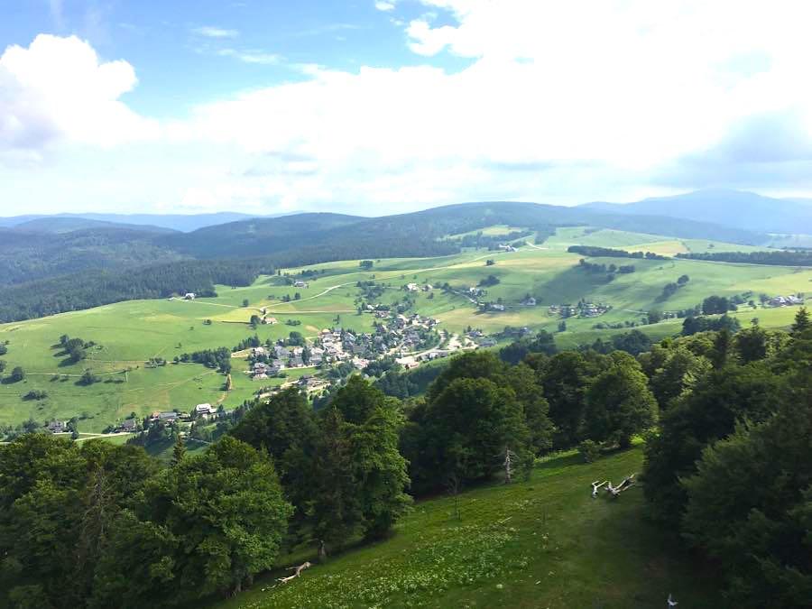 schauinsland aussicht - Die Outdoor-Region Belchen im Schwarzwald