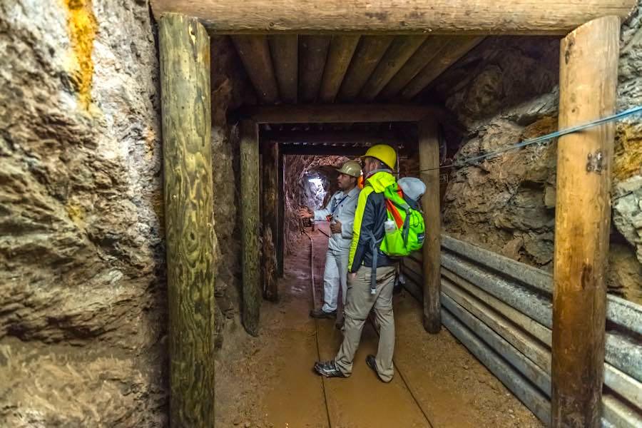 besucherbergwerk finstergrund 3 - Belchen: Wandern in der Schwarzwald-Region