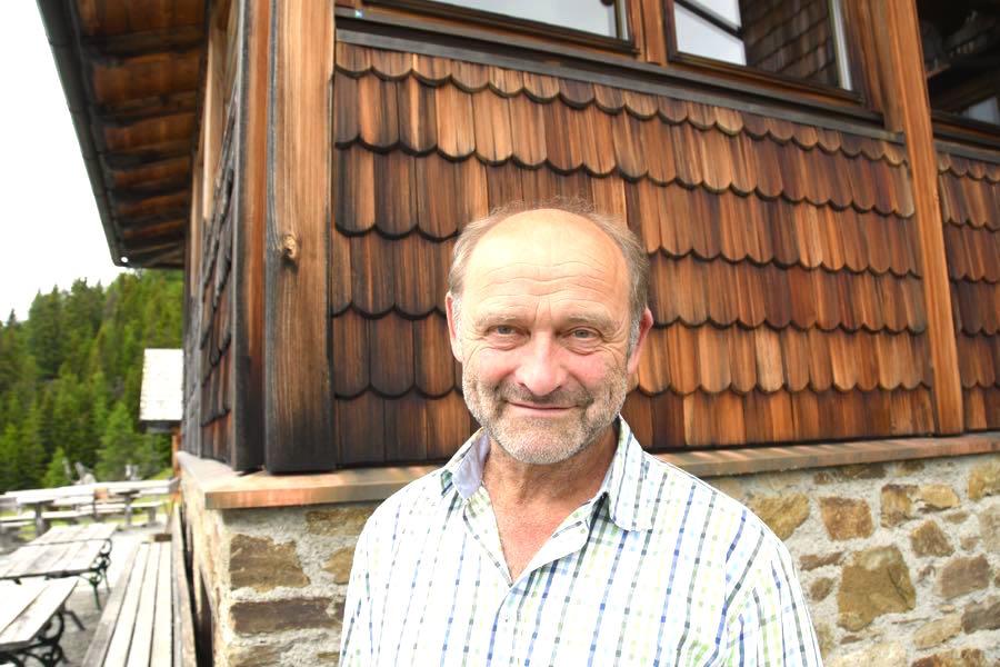 Kärnten Urlaub Wandern Alexanderhütte Franz Glabischnig
