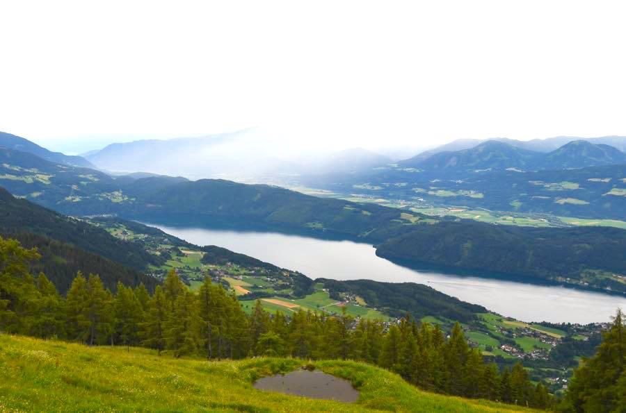 Millstätter See Kärnten Urlaub Wandern