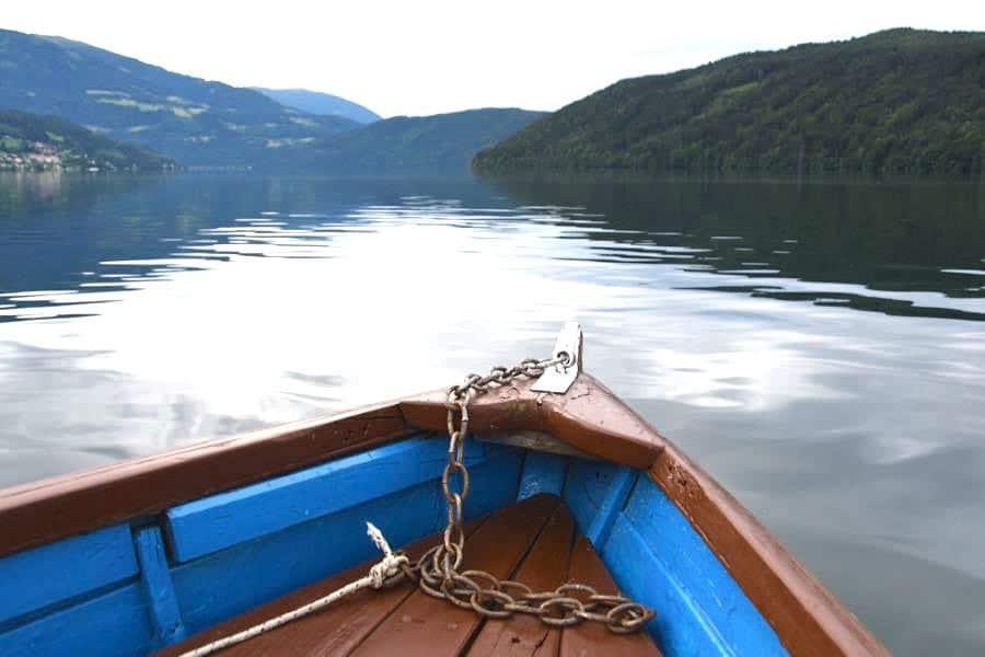 Millstätter See Kärnten Urlaub Boot