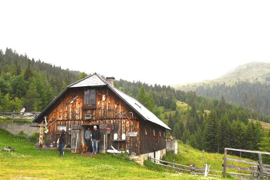 Millstätter See Kärnten Urlaub Wandern Schwaigerhütte
