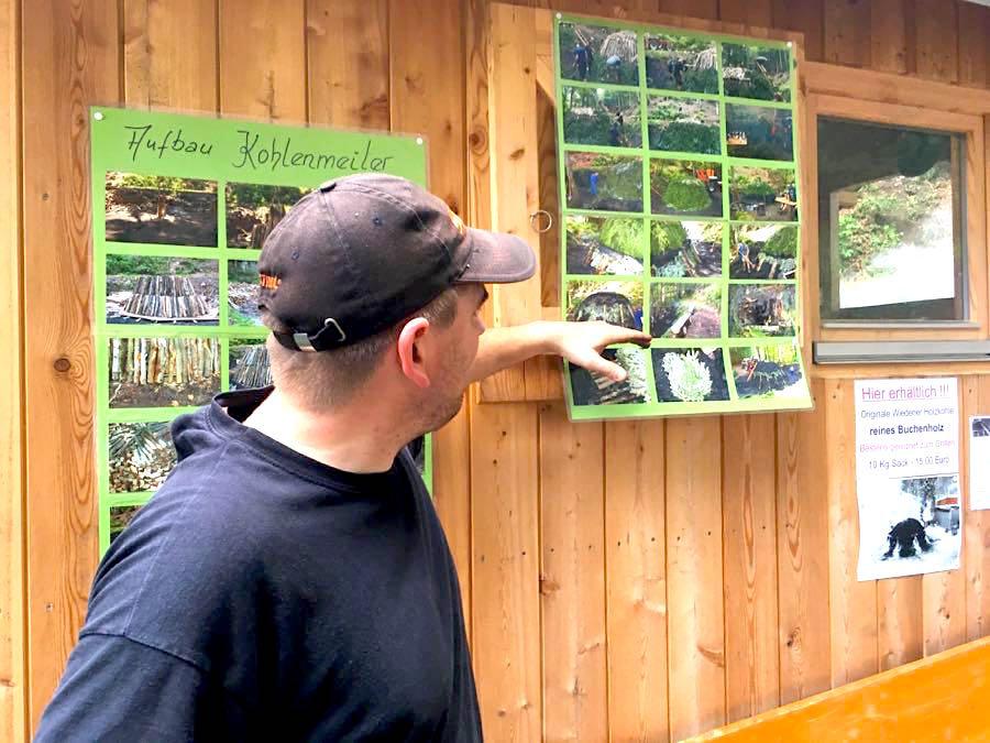 schwarzwald kohlenmeiler 3 - Belchen: Wandern in der Schwarzwald-Region