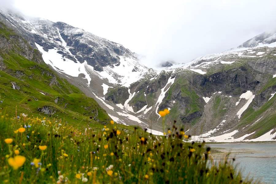 alpen berge ein schnee - Bergtour und Gletscher-Trekking in Österreich
