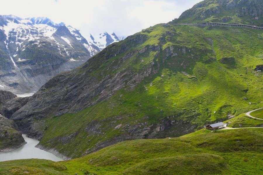 alpen hochalpenstrasse  - Bergtour und Gletscher-Trekking in Österreich
