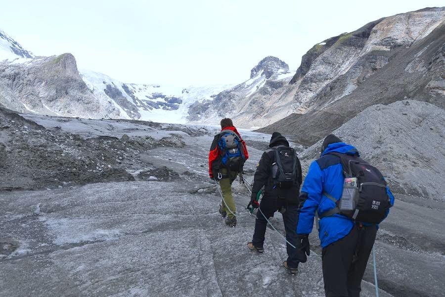 alpen hohe tauern - Bergtour und Gletscher-Trekking in Österreich