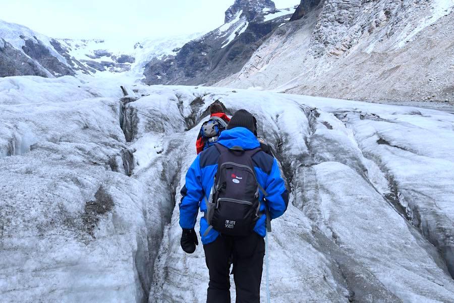 Klettergurt Für Gletscher : Bergtour und gletscher trekking in Österreich people abroad