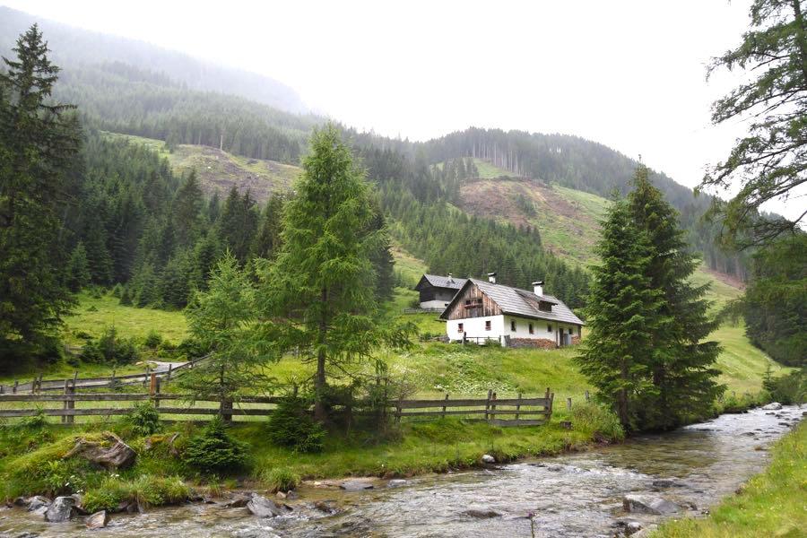 Kärnten Katschberg Pöllatal