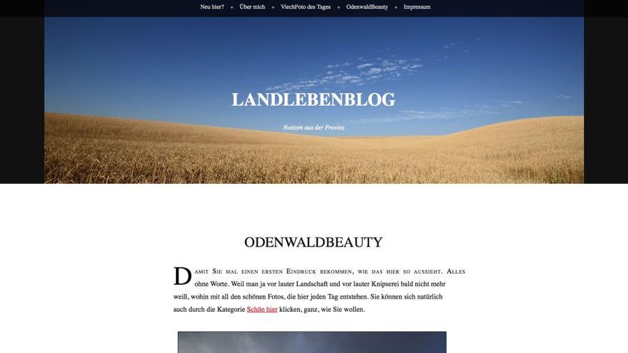 Blogger Rhein Neckar Landlebenblog Odenwald Friederike Kroitzsch