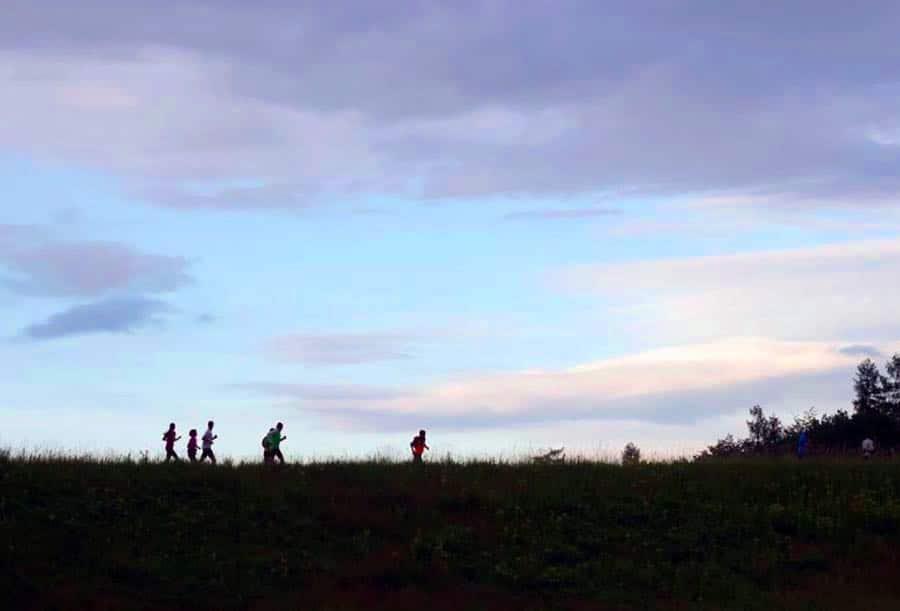 nachtlauf karlsruhe - Laufen