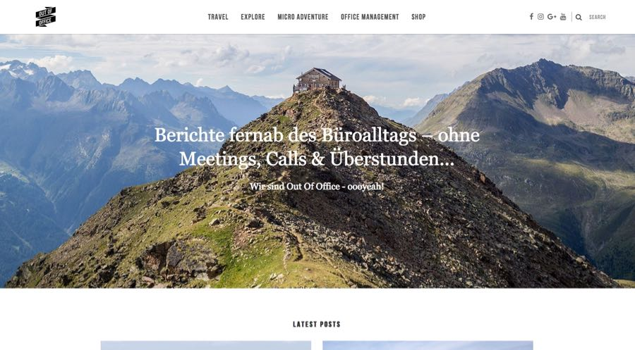 Out of Office Reiseblogger Katharina und Henryk Outdoor Blog
