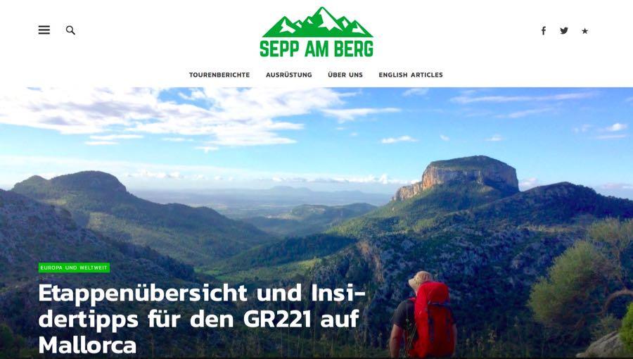 Blogger Rhein Neckar Mannheim Sepp am Berg Wander Outdoor Blog