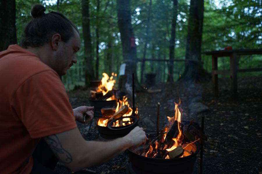 Skane Schweden Outdoor Nyrups Naturhotell