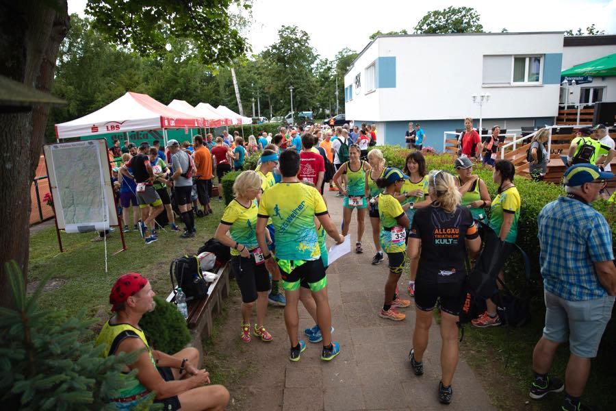 Ultralauf Marathon Laufen