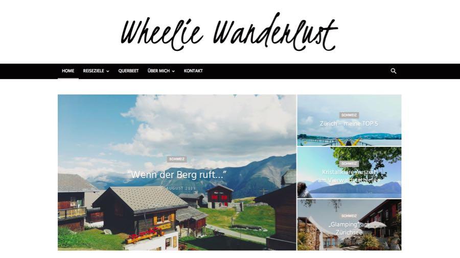 Blogger Rhein Neckar Wheelie Wanderlust