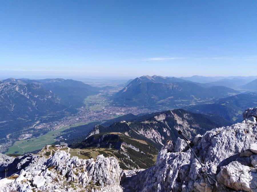 zugspitze spitzenwanderweg - Auf die Zugspitze wandern - mein Tourenbericht