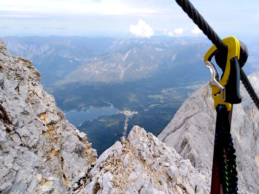 zugspitze wanderung spitzenwanderweg 12 - Auf die Zugspitze wandern - mein Tourenbericht